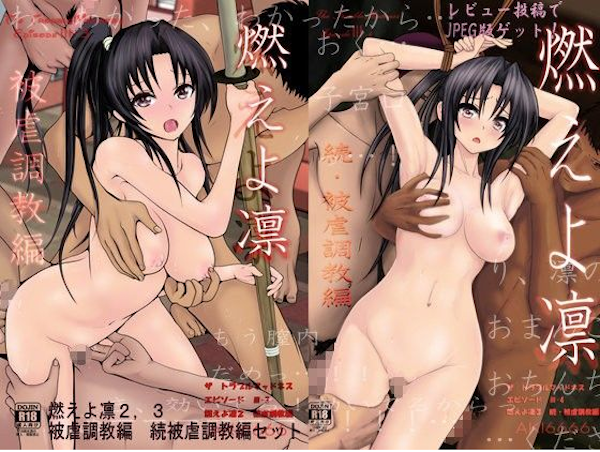 燃えよ凛 被虐調教編セット-AKI6666-
